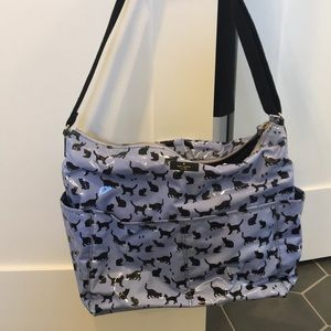 Kate Spade Cat Print Diaper Bag
